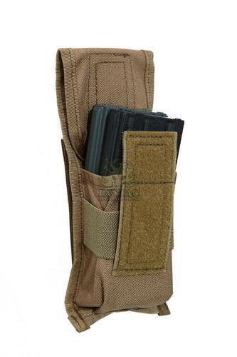 Ціна Підсумок для Магазинів гвинтівки (AR/М-серія та інші) / Підсумок магазину молле Pantac FLC Molle M4 Single Dual-Mag Pouch PH-C889, Cordura