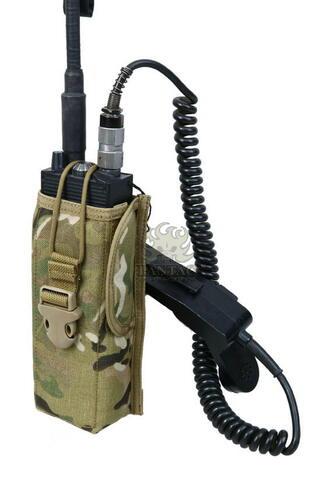 Ціна Підсумок під Рації / Підсумок для радіостанції молле Pantac Molle PRC148 Radio Pouch PH-C885, Cordura