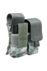 Підсумок для магазину Shark Gear Molle AR10/M14 Double Dual-Mag Pouch 80213, 900D