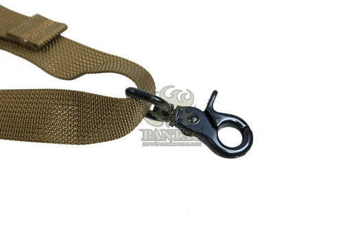 Ціна Ремінь для зброї / Трьохточковий ремінь для зброї на плитонос Pantac One Point Sling For Ciras SL-N063, II vers