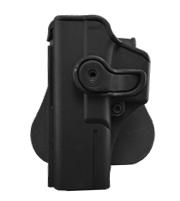 IMI-Z1010LH тактическая полимерная кобура для Glock под ЛЕВУЮ РУКУ 17/22/31 (также вмещает Gen.4)
