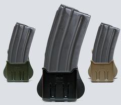 IMI-Z2400 одинарный тактический полимерный подсумок с фиксатором для AR15/M16, Galil