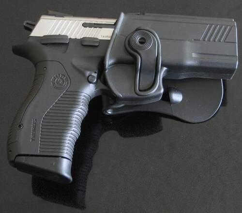 Ціна Полімерні кобури та аксесуари / IMI-Z1360 тактична полімерна кобура для Taurus PT800