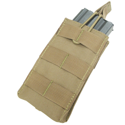 Ціна Підсумок для Магазинів гвинтівки (AR/М-серія та інші) / Condor Single M4/M16 Open Top Mag Pouch MA18