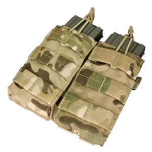 Ціна Підсумок для Магазинів гвинтівки (AR/М-серія та інші) / Condor Double M4/M16 Open Top Mag Pouch MA19