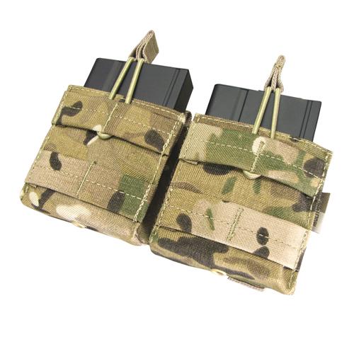 Ціна Підсумок для Магазинів гвинтівки (AR/М-серія та інші) / Condor Double AR10/M-14 Open Top Mag Pouch MA24