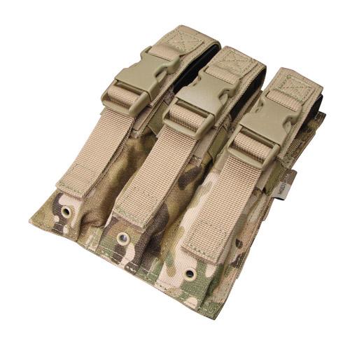 Ціна Підсумок для Магазинів пістолетних / Підсумок для магазинів пістолет-кулемету потрійний молле Condor MP5 Mag Pouch MA37
