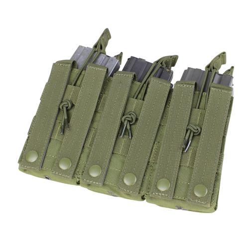 Ціна Підсумок для Магазинів гвинтівки (AR/М-серія та інші) / Condor Triple Stacker M4 Mag Pouch MA44