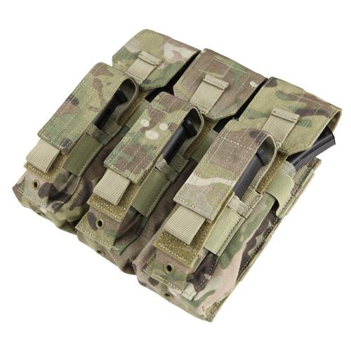Ціна Підсумок для Магазинів гвинтівки (АК-серія та СВД) / Підсумок для АК магазинів молле Condor Triple AK Kangaroo Mag Pouch MA72