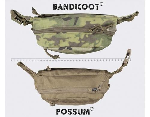 Ціна Сумки. Поясні, Плечові та для прихованого носіння зброї / Тактична поясна сумка Helikon-Tex POSSUM® WAIST PACK TB-PSM - CORDURA®
