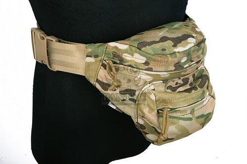 Ціна Сумки. Поясні, Плечові та для прихованого носіння зброї / Поясна тактична сумка Pantac ERB Wraist Bag OT-C016, Cordura