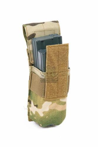 Ціна Підсумок для Магазинів гвинтівки (AR/М-серія та інші) / Підсумок для магазину молле Pantac Molle M16 Single Mag Pouch PH-C208, Cordura