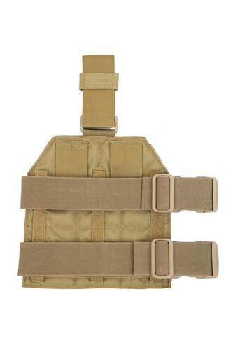 Ціна Ременеві Плечові Системи (РПС), розвантажувальні пояси, ремені, жилети та стегнові панелі / Стегнова молле платформа Shark Gear Molle Leg Panel 80005226