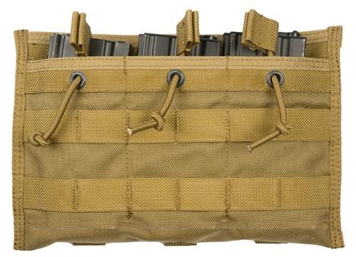 Ціна Підсумок для Магазинів гвинтівки (AR/М-серія та інші) / Pantac M16 Triple Mag Pouch PH-C880, Mod B, Cordura