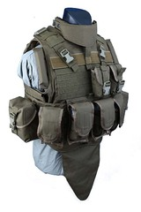 Shark 90002929 Molle MTV Body Armor, Medium, 900D (discontinued)