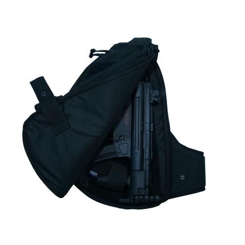 Ціна Рюкзаки. Транспортувальні, вантажні, для зброї та під гідросистеми / Рюкзак слінгер Danaper STEALTH Urban 19030, Black