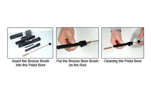 Ціна Чистка зброї / Набір для чистки пістолета UTG® 9MM Pistol Cleaning Kit TL-CLP9MMKT