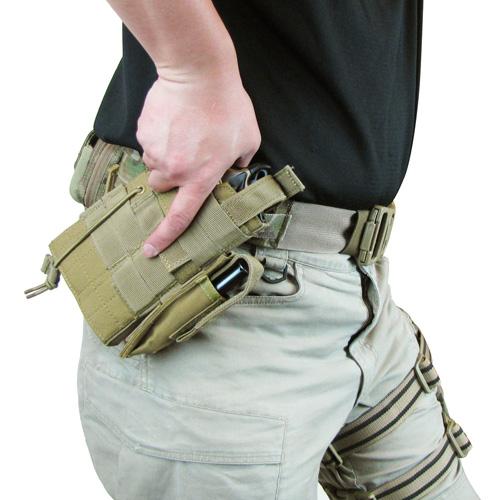 Ціна Ременеві Плечові Системи (РПС), розвантажувальні пояси, ремені, жилети та стегнові панелі / Пістолетний ремінь Condor Universal Pistol Belt US1016, Crye Precision MULTICAM
