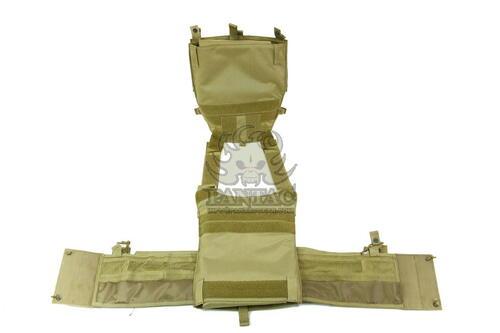 Ціна Плитоноска (Плейт керріер та Бронежилет) / Чохол бронежилету Pantac Molle 6094 Plate Carrier VT-C094 With Commerbund, Cordura