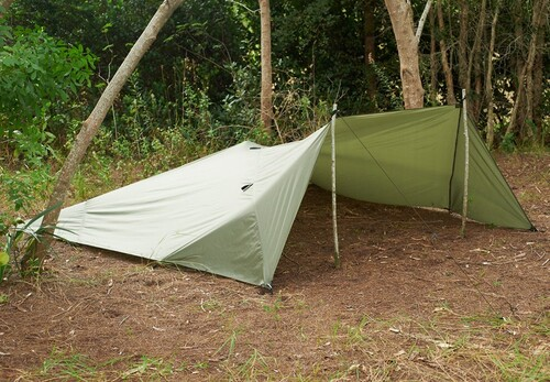 Ціна Табірне та Туристичне спорядження / Всепогодний тент укриття Snugpak All Weather Shelter 6167