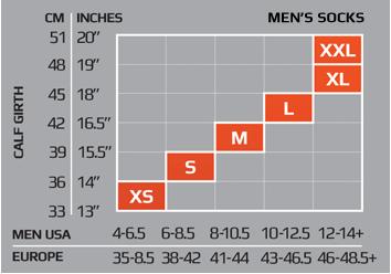 Ціна Шкарпетки / Компресійні антибактеріальні шкарпетки 2XU Military Men's Compression Socks, Made in USA