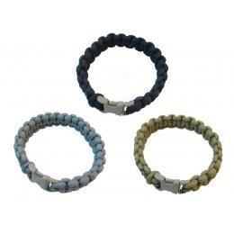 Ціна Паракорд, вироби з нього та аксесуари Paracord / Паракордовий браслет Pantac Paracord Bracelet OT-N536, Small/Medium/Long (7/8/9 дюймів)