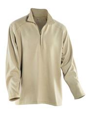 Drifire Long Sleeve Zip Neck Single Sided Mod/Viscose Mock Fleece - Made in USA DF2-277MZ 20000100 (негорюче/вогнетривке)