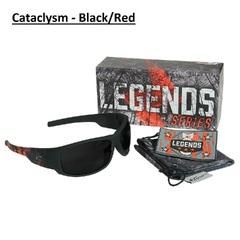 Edge Legends Ballistic Sunglasses w/Vapor Shield Anti-Fog Coating HL616