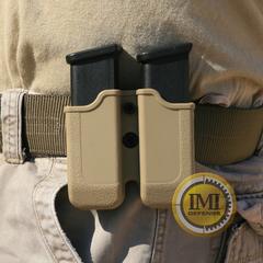 IMI-Z2020 (MP02) подвійний полімерний підсумок для Glock 20/21/30