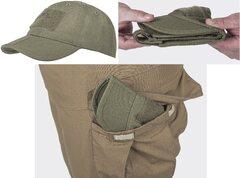 Тактична бейсболка складана Helikon-Tex Baseball Cap CZ-BBF-PR - FOLDING® - PolyCotton Ripstop