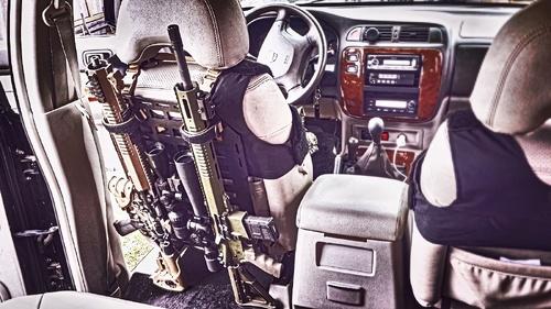 Ціна Панель molle для автомобільного сидіння, у рюкзак / GearLab Molle Carrier Panel Type A1 (2 Gen.)