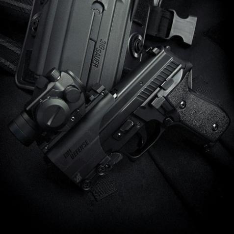 Ціна Для короткоствольної зброї / Рельсова система пістолету для оптики IMI Pistol Scope Rail Mount ZPM01