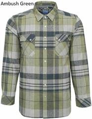 Тактична фланелева сорочка LA Police Gear Vanguard Mid Weight Flannel
