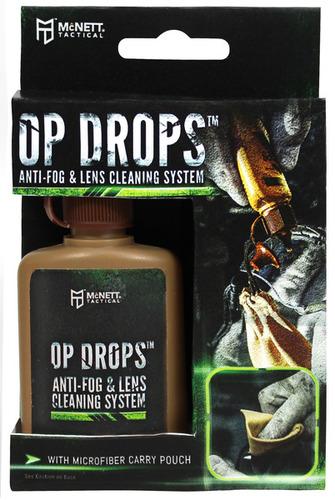 Ціна Лінзи, компоненти та аксесуари / Антифог McNETT Op Drops™ Anti-Fog & Lens Cleaning System 37ml (1 1/4 Fl. Oz.) 44052