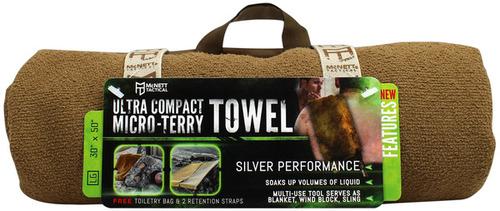 Ціна Табірне та Туристичне спорядження / McNett OUTGO Tactical ULTRA COMPACT MICRO-TERRY TOWEL, Large 690