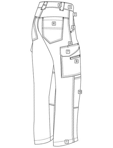 Ціна Штани та брюки / Тактичні штани Tru-Spec MEN'S 24-7 SERIES® 3464 TACTICAL BOOT CUT TROUSERS