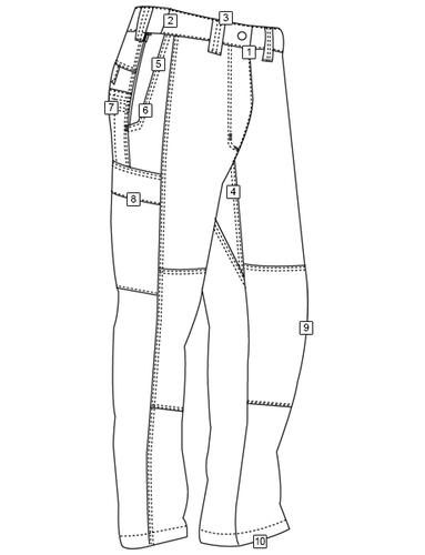Ціна Штани та брюки / Тактичні штани для поліції Tru-Spec URBAN FORCE TRU PANTS 1309