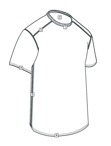 Ціна 1 шар. Потовивідна термо білизна / Антибактеріальна не плавка футболка Tru-Spec CORDURA® BASELAYER CREW NECK SHORT SLEEVE SHIRTS 2767
