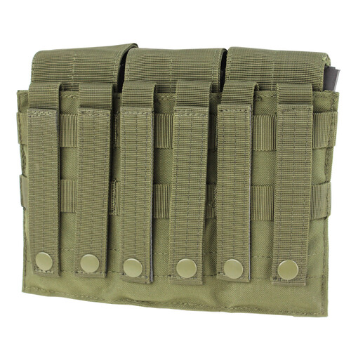 Ціна Підсумок для Магазинів гвинтівки (AR/М-серія та інші) / Підсумок для AR магазинів карабіну потрійний молле Condor Triple M4 Mag Pouch MA58