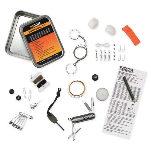 Ціна Засоби виживання, орієнтування та видобуток вогню / NDUR CMBT Survival Tin 31150