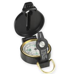 NDUR 51540 Lensatic Compass w/Whistle