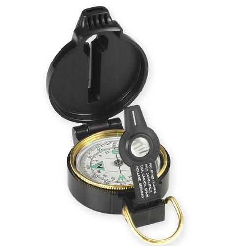 Ціна Засоби виживання, орієнтування та видобуток вогню / Лінзовий компас із свистком NDUR Lensatic Compass w/Whistle 51540