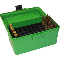 Бокс для набоїв MTM CASE-GARD Deluxe H-50 Series Ammo Box Medium - Гвинтівочний калібр