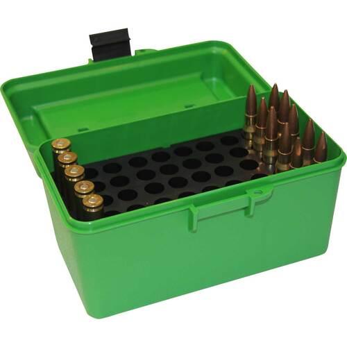 Ціна Бокси для набоїв, замки для зброї / Бокс для набоїв MTM CASE-GARD Deluxe H-50 Series Ammo Box Medium - Гвинтівочний калібр