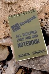 Snugpak 9738 All Weather Notebook, Large