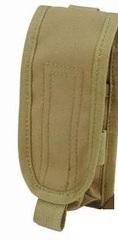 Pantac PH-C874 Molle EV Single 40mm Grenade Pouch, Cordura