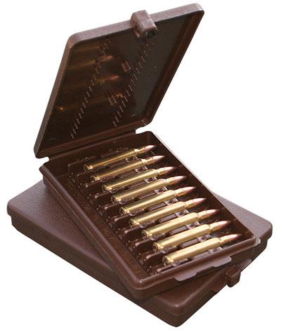 Ціна Бокси для набоїв, замки для зброї / Бокс для набоїв MTM CASE-GARD™ Rifle Ammo Wallets W-9