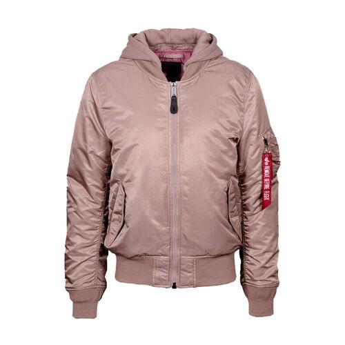 Ціна Утеплений одяг / Куртка аляска Alpha Industries MA-1 Natus Flight Jacket, Mauve