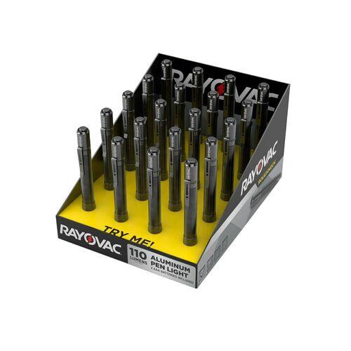 Ціна Ліхтарі / Тактичний кишеньковий ліхтар Rayovac Roughneck 2 AAA LED Aluminum Pen Light