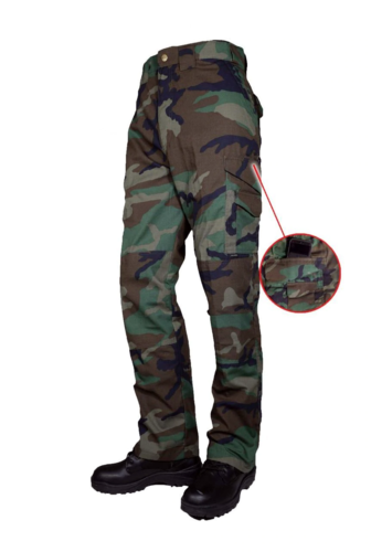 Ціна Штани та брюки / Tru-Spec 24-7 Series 50/50 Cordura NYCO Woodland Original Tactical Pants w/ Cell Pocket